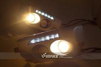 Daytime running lights for Toyota cruiser LED lights daytime running lamp for safe driving 09-13 year
