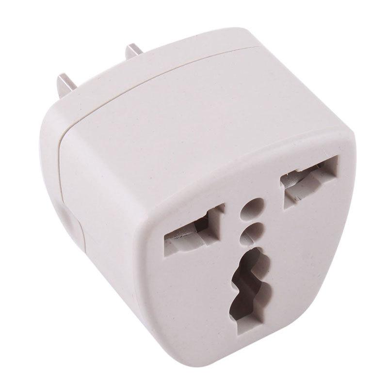 product Universal EU UK AU to US USA AC Travel Power Plug Charger Adapter Converter   #42325