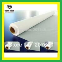 TJ Color:White,60Mesh(24T) polyester Silk screen printing mesh(width=1.27meter) 1 meter