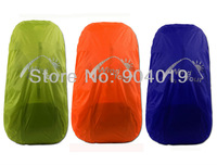Portable Backpack Rucksack  Rain Cover waterproof Bag Cover Water Resist Orange Green Blue Size M 40-50L