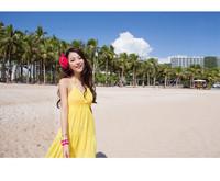Free Shipping Women's Beach Dress Summer Cotton Sleeveless Long sundress V neck Casual Maxi Beach Bikini Dress