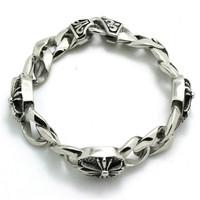 BC0292  Fashion Unisex Cross Bracelet  316 Stainless Steel Hot Sale Popular Punk Wholesale Price Cool Bracelet