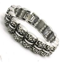 BC0273 Fashion Top Quality Men Bracelet  316 Stainless Steel Hot Sale Popular Punk Wholesale Cool Bracelet