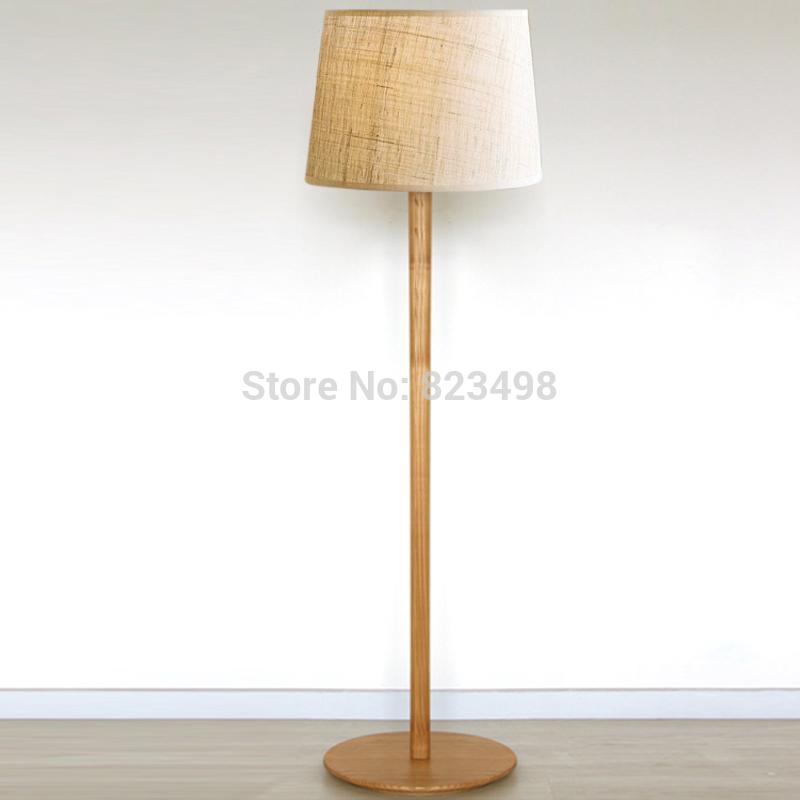 american wrought iron wood grain floor lamp fabric lamp