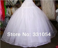 Free Shipping Tulle A Line Ball Gown Accessories Bridal Wedding Dress Petticoat