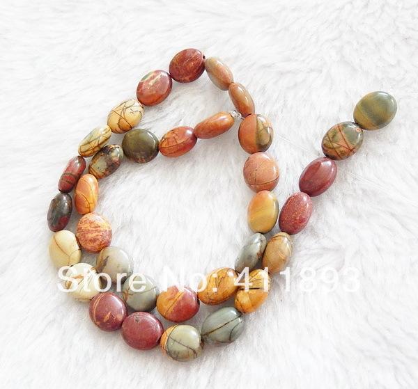 Multi- colori picasso perle di diaspro sciolto, 12x10x6mm, 33.98g