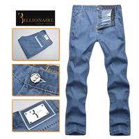 Billionaire italian couture men's clothing jeans 2014 100% mid waist cotton pants