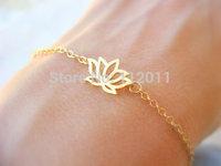 new 2014 Bracelets handwork Lotus celadon Bangle bracelet adjustable 10pcs/lot mix order free shipping