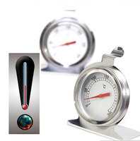 Hot 0-300 Degree Household Kitchen Classic Stainless Steel Cake Baking Temperature Oven Baked Food Metal Thermometer