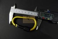 D aluminum alloy climbing Locking Carabiner climbing hook buckle EDC tool Free shipping