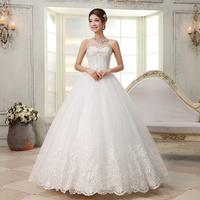 Free Shipping~Luxury Crystal bride tube top diamond decoration  beading Wedding Dress Gown Bridal Ball Size 4-6-8-10-12-14