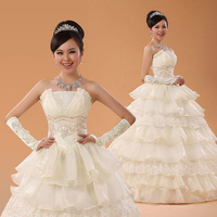 Free Shipping~Tube top  sweet fashion shell elegant Wedding Dress Gown Bridal Ball Size 4-6-8-10-12-14