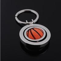 Free shipping,Brand New keychains Wholesale 12 pcs/lot sport Basketball keychain for men jewelry trinket key ring novelty items