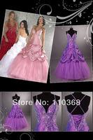 PR1568 Embroidery Design Brand Taffeta and Organza Style Spaghetti Strap V Neckline Evening Dresses,Evening Gown Free Shipping