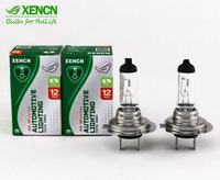 2PCS XENCN H7 PX26d 12V 55W 3200K Standard Clear White Halogen Headlights High Low Beam Car Lights Bulbs Reliable Quality Lamp