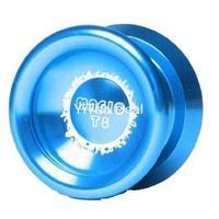 Free shipping New Blue Magic YoYo T8 Shadow Aluminum Professional Yo-Yo