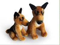 Plush toy dog doll toy birthday gift dolls german shepherd dog cartoon