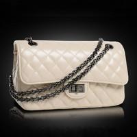 2014 women's handbag small bags casual messenger bag chain bag cross-body women's lather-bag