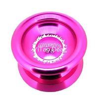 Free shipping New Pink Magic YoYo T8 Shadow Aluminum Professional Yo-Yo