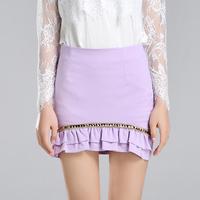 2014 spring and summer formal short skirt black grape step slim skirt female bust skirt slim hip skirt