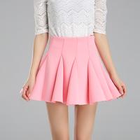 2014 spring and summer short skirt black grape space female puff skirt bust skirt