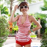 2013 split skirt push up small female swimwear hot spring swimsuit