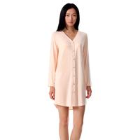 Neiwai summer female V-neck long-sleeve sexy modal nightgown robe sleepwear lounge