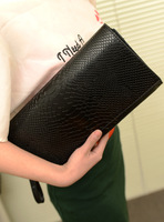 Spike special Korean version of snake crocodile clutch bag clutch evening bag briefcase Shoulder Messenger bag woman