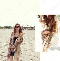 2014 New Fashion Women's Shirt  Hollow Out Lena Full Sleeve  E0713