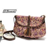 HOT 2014 Floral tassel semi-cirle dunnes small messenger bag shoulder bag J-429