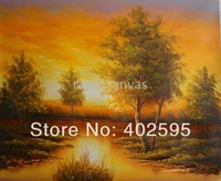 Free shipping 1 panel still life sea landscape abstract oil painting on canvas modern art 100% handmade  home decor YTM023