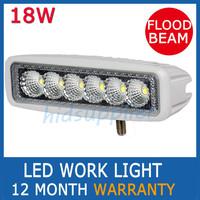 1pcs 18W LED Work Light Led Driving Light Offroad Truck Mini Boat Led Bar  Fog lamp12v Spotlight