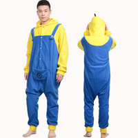 New Character Flannel Unisex Adult Pajamas Kigurumi Cosplay Costumes Animal Onesie Sleepwear Dress Jumpsuit Pyjama Despicable Me