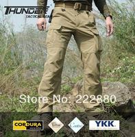 Fast dry cool dry lightweight tactical pants military pants 100% nylon cordura+YKK zipper swat sporting pants free shipping