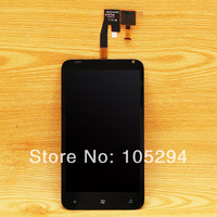 For HTC Radar 4G Omega C110E LCD Touch Glass Screen Digitizer Assembly, Black ,Free Shipping