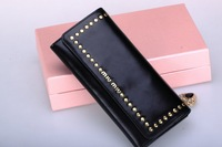 Wholesale+Retail 1pcs New Fashion brand oil wax genuine Leather women's Long Wallet Multifunctional purse Women brand wallets