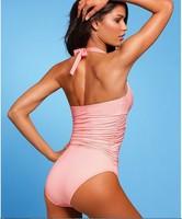 Fashion Lady Tankini Women Swimwear Black / Pink / White G-string Bikini Sexy Beach Swim Wear Swimsuits Beachwear Bathers