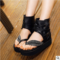 2014 new fashion sandals Woman sandals platform shoes Summer  Heels sandal FREE SHIPPING C458