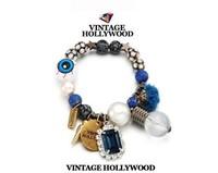 Gem Stones Stars Beaded Bracelet 2014