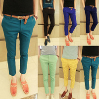 Ankle length trousers male trousers male casual pants  harem pants male skinny pants 28 to 36