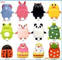 Hot selling Baby Toddler boys girls cute school PU bag LINDA kids cartoon backpacks animal bag launch bag
