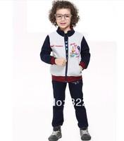 2014 peppa pig 2014 Spring New Pepe pig-sleeved jacket collar boys ID37757614322