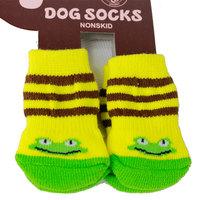 Slip-resistant socks pet socks dog socks teddy dogs bo bear supplies dog shoes ankle sock