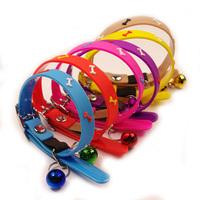 Pet collar dog bones collar soft silica gel belt bell teddy vip collar dog supplies