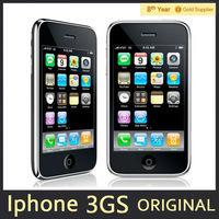 "Original iphone 3GS 3G Unlocked Cell phone 8GB 16GB 32GB ROM GPS 3.0MP 3.5""TouchScreen iOS APPLE Smart phone Used"
