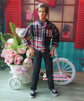 (3 off 13 usd) Shirt And Pants Set For Ken Doll