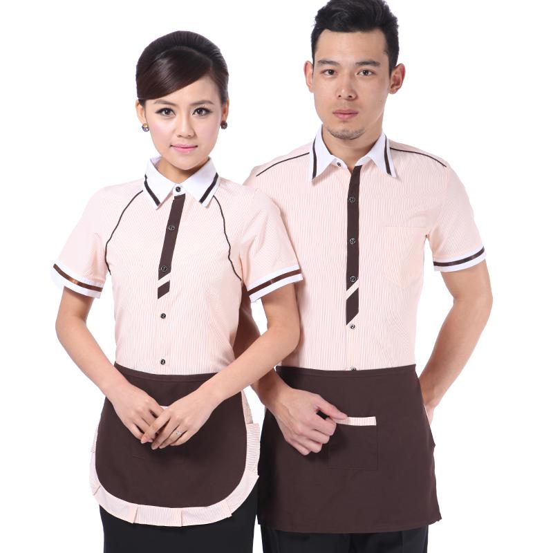 Restaurant Hostess Uniform Promotion Online Shopping for  : 10pcs Summer waiter work wear female clothes short sleeve work wear female font b restaurants b from www.aliexpress.com size 800 x 800 jpeg 274kB