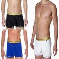 Free Shipping!! 3pcs/lot AC Underwear, Mens underwear, Mens Boxer, Men's Boxer Shorts, 3 Colors + Mix Order (C-48)