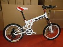 hummer folding bike promotion