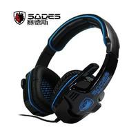 Sades sa-708 professional gaming earphones desktop headset belt ermai